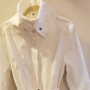 Beautiful stylish white dress jacket